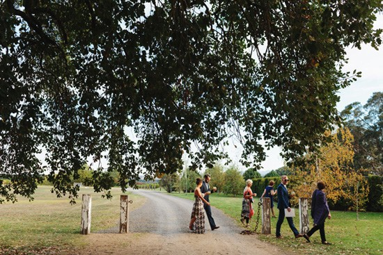 Stones Of The Yarra Valley Guests Walking