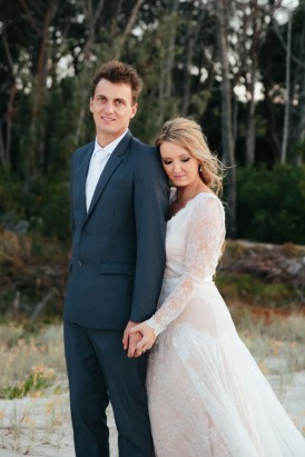 Stradbroke Island Wedding Photo by White Images
