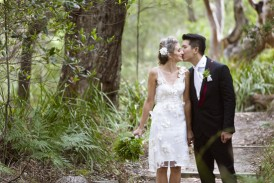 Sydney bushland wedding