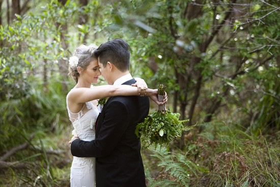 Sydney bushland wedding photos