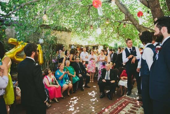The Tin Cat Café Wedding Ceremony