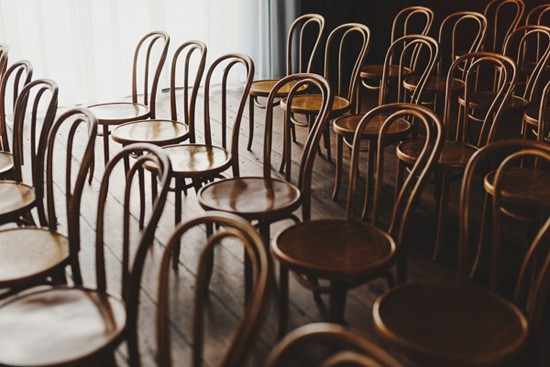 Wedding Ceremony Bentwood Chairs