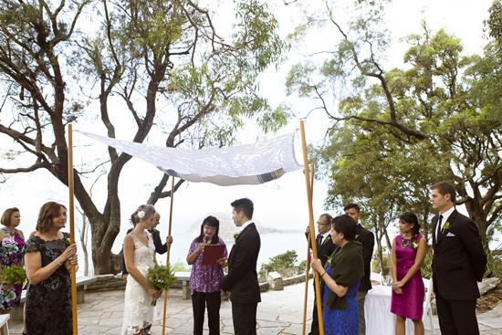 West Head Lookout Marriage Ceremony