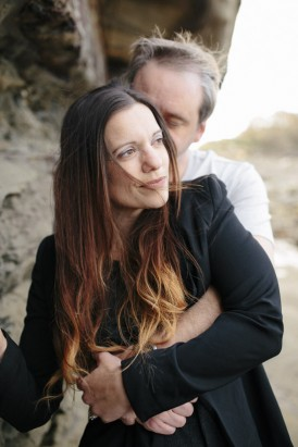 Winter beach engagement0031