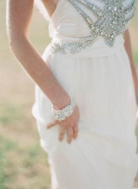 Anna Campbell beaded wedding dress