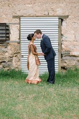 Australian Indian wedding portrait
