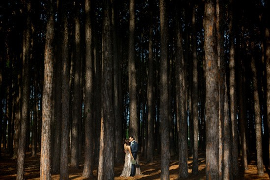 Australian forest wedding