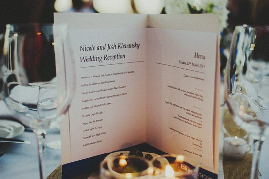 Blue Water Grill Applecross Wedding Reception