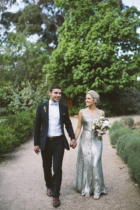 Bride and groom Modern Melbourne wedding