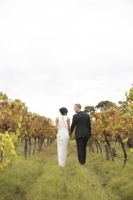 Bride in Carla Zampatti Dress