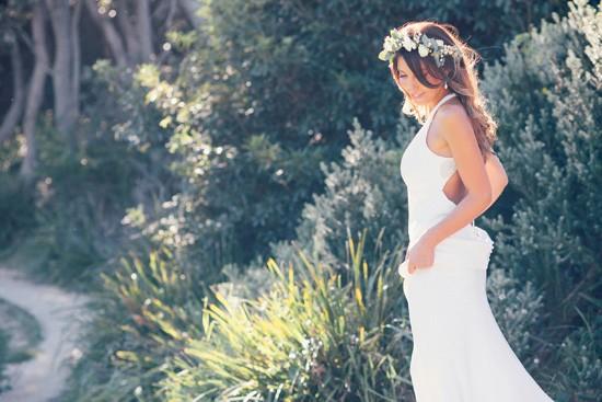 Bride in Jennifer Regan Gown