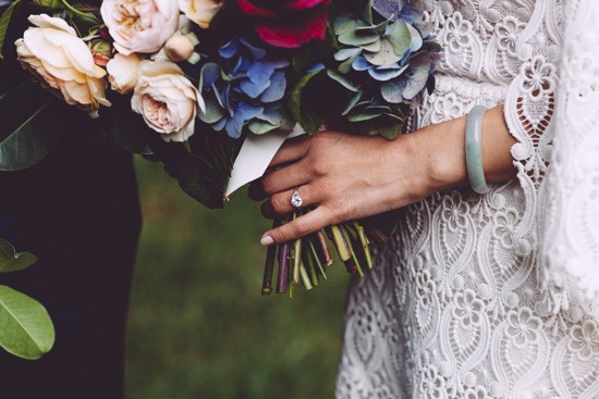 Bride with jade bangle