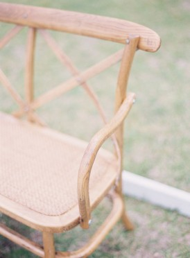 Chair for signing wedding registry