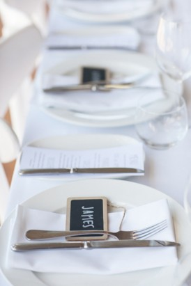 Chalboard place cards