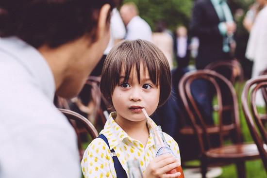 Child wedding guest
