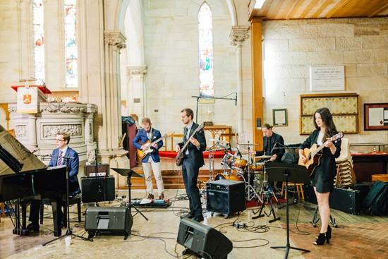 Church wedding band