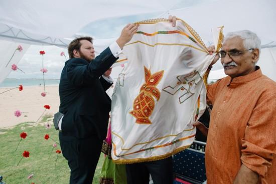 Cloth at Indian Wedding