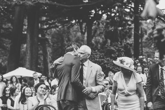 Congratulationg groom