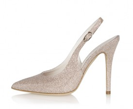 Copper Gold Wedding Shoes