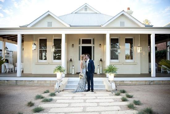 Cottesloe at home wedding