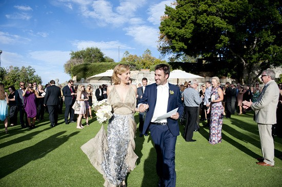 Cottesloe bride and groom