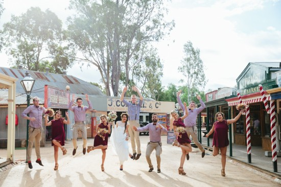 Country Bridal Party in Raisin
