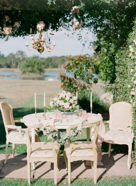 Country agrden wedding idea