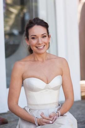 Custom made Johanna Johnson gown