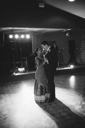 First dance at Australian Indian wedding