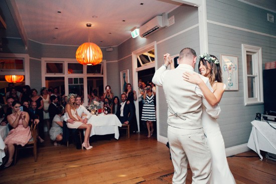 First dance in resaturant
