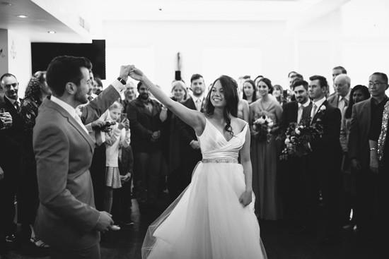 Foirst dance at Sydney wedding