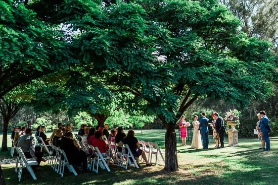 Garden at  Circa 1876 Wedding