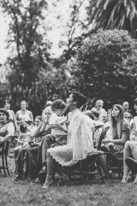 Garden party wedding in Melbourne
