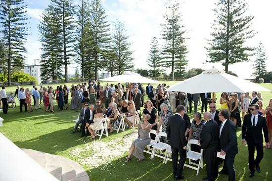 Garden wedding in Cottesloe
