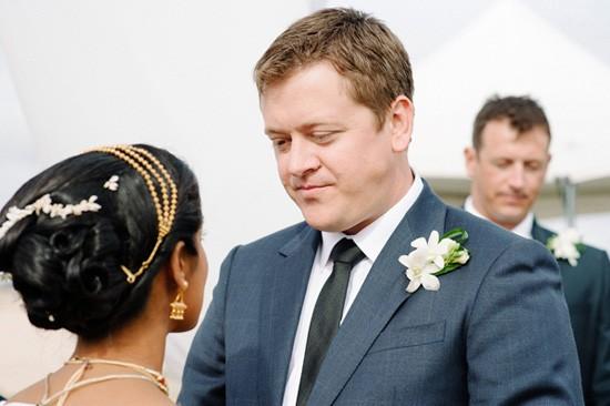 Groom at Indian Wedding