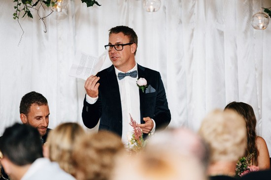 Groomsmen wedding speech