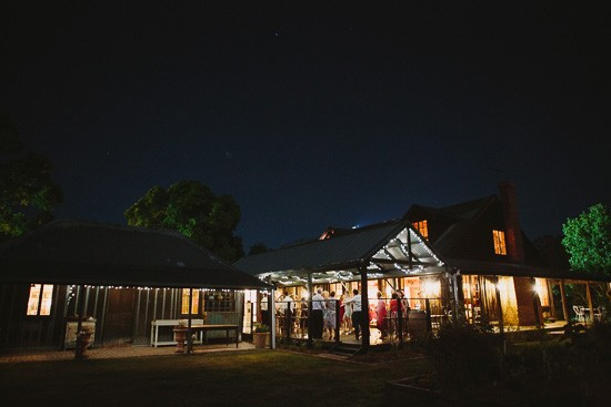 Hunter Valley Wedding Reception