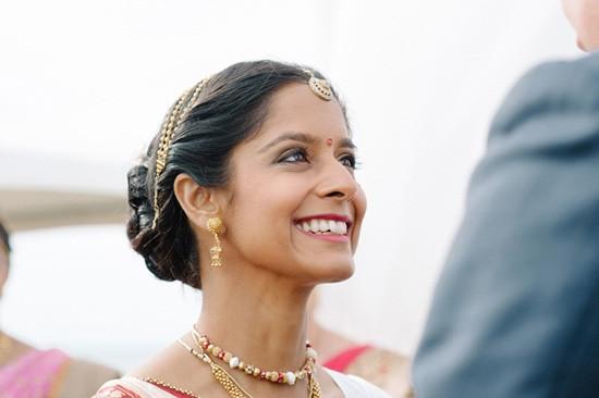 Indian wedding ceremony bride