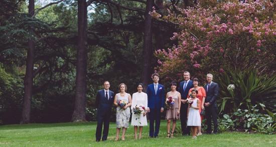 Intimate fitzroy gardens wedding