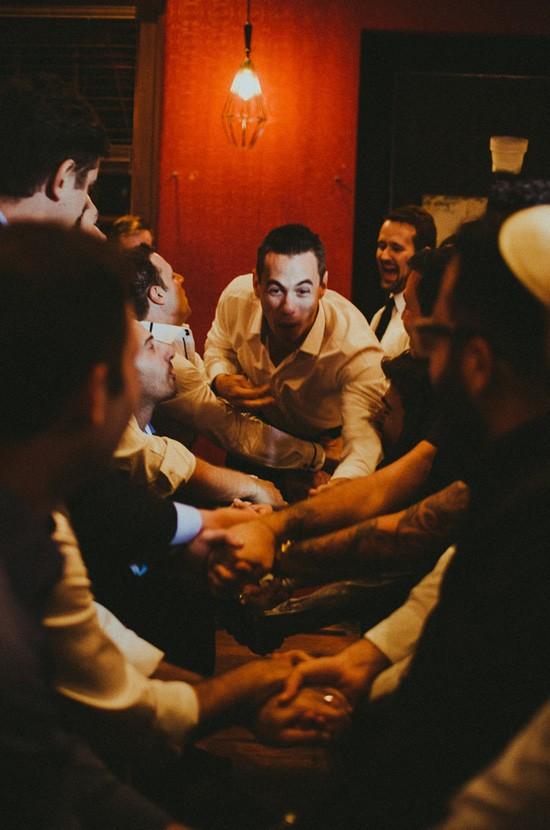 Jewish wedding festivities