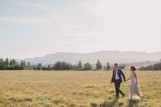 Landscape Wedding photo in Hunter Valley