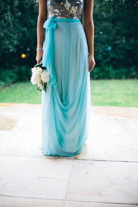 Limpet Shell Bridesmaid Dress