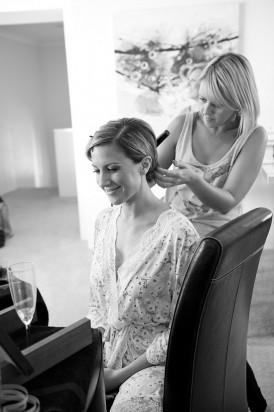 Lisa Emery Wedding Hair