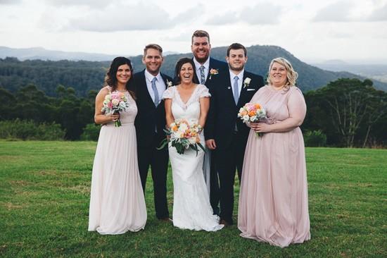 Maleny bridal party