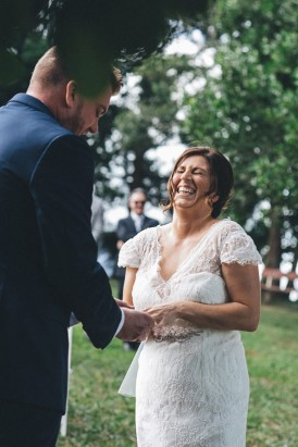 Maleny marriage ceremony
