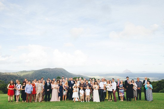 Maleny wedding guests