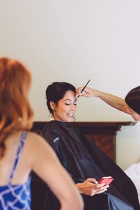 Mary Peda Wedding Makeup
