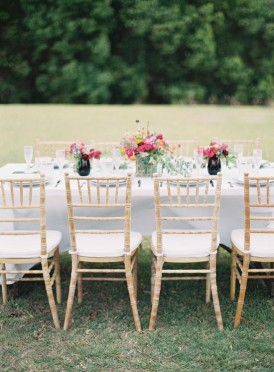 Modern wedding table ideas