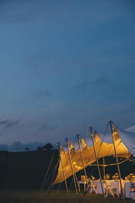 Nomadic tent at wedding