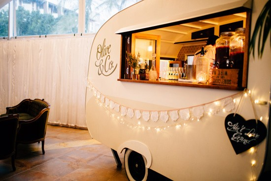 Olive and co caravan bar
